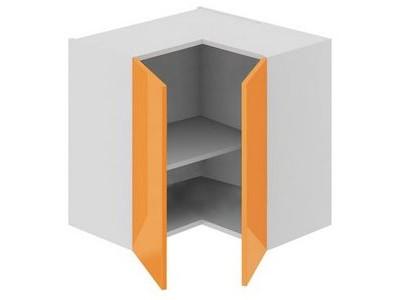 Угловой кухонный шкаф с двумя дверками на заказ в Саратове