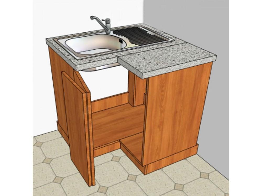 Как сделать угловой шкаф для кухни 857