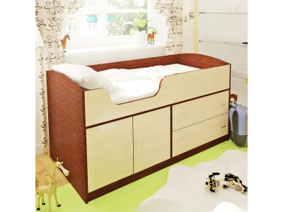 Сделать детскую кровать с ящиками на заказ в Саратове