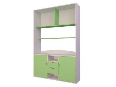 Шкаф для детской комнаты с ящиками и полками на заказ в Саратове