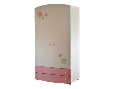Шкаф для детской комнаты с дверками на заказ в Саратове