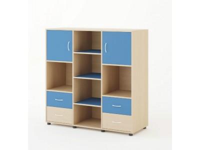 Шкаф для детской комнаты с ящиками на заказ в Саратове