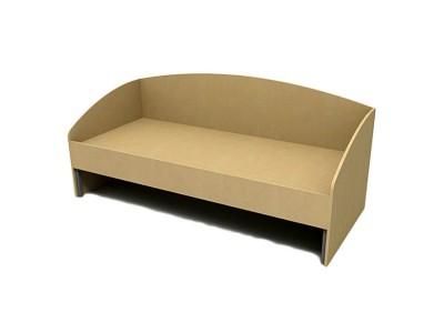 Кровать односпальная КО-5 на заказ в Саратове
