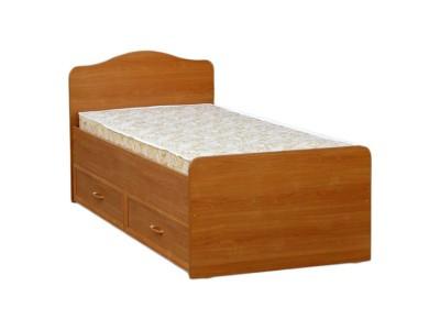 Кровать односпальная с ящиками КЯ-6 на заказ в Саратове