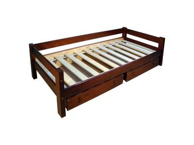 Кровать односпальная с ящиками КЯ-5 на заказ в Саратове