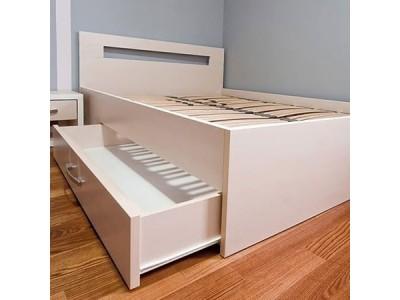 Кровать двуспальная с ящиком КЯ-4 на заказ в Саратове
