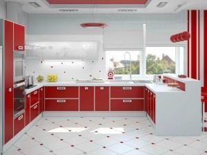 П образная кухня