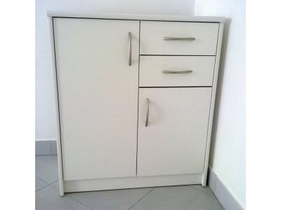 Напольная кухонная тумба с дверцами и ящиками на заказ в Саратове
